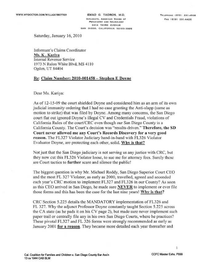 Complaint to Internal Revenue Service IRS\u2013Title 5, CRC 5225, fl-327 - irs complaint form