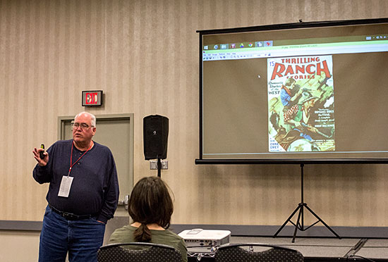 Ed Hulse tells the history of Thrilling's western pulps.