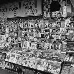 A month later, the newsstand at East 32nd Street and Third Avenue, New York City, (seen in the earlier photo) is packed with pulps dated November and December 1935.