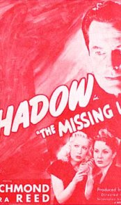 The Shadow: The Missing Lady press book