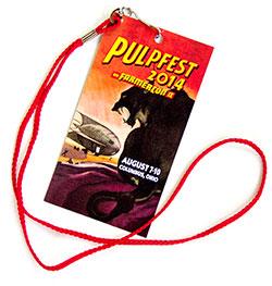 PulpFest 2014 badge