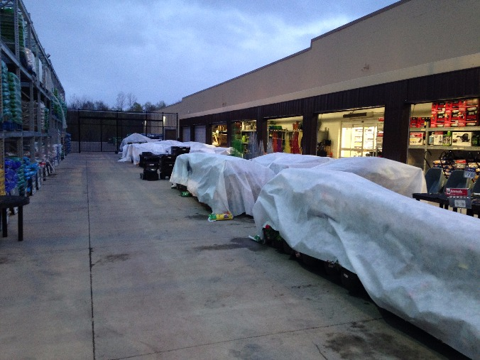 Walmart Garden Center Frost Warning