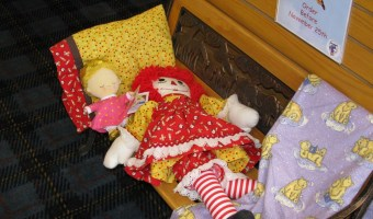 Raggedy Ann and Princess Baby