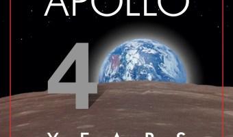 40th Anniversary of Man Landing on Moon!