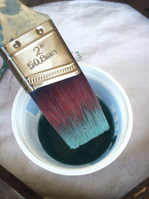 5 tips for using milk paint. Don't forget to give your paint a stir every once in awhile.