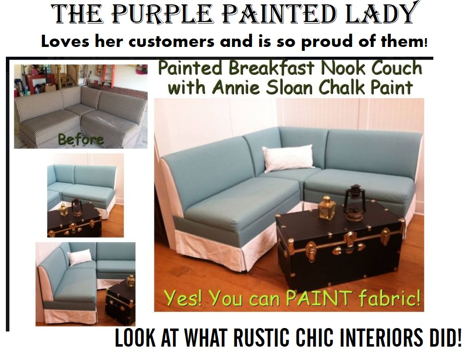 Using Chalk Paint® To Paint Your Couch Or Wing Back Chair | The