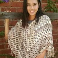 Timeless Boho Poncho - Free Crochet Pattern
