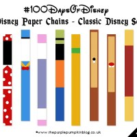 Disney Paper Chains | #100DaysOfDisney - Day 22 | Make It Monday