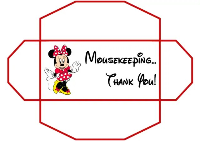 Mousekeeping Tip Envelopes 100daysofdisney 187 The Purple