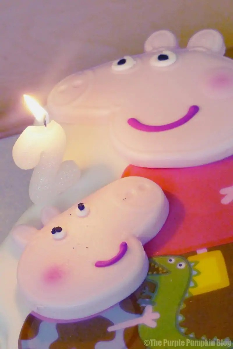 Peppa Pig Birthday Cake Peppa Pig Birthday Cake Candles