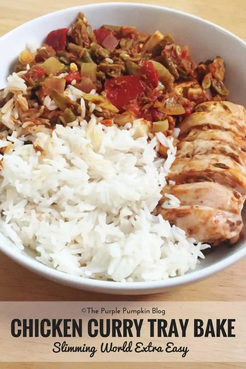 Chicken Curry Tray Bake - Slimming World Recipe