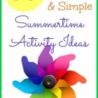 35 Frugal, Fun and Simple Summer Activities for Kids