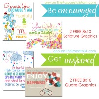 FREE Printable Designer Graphics for the Christian Home