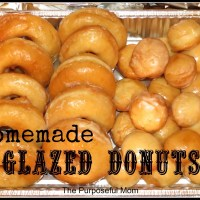 Homemade Glazed Donuts {Dairy Free!}