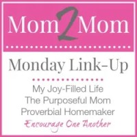 How to Get Your Kids to Stay in Bed and Mom 2 Mom Monday Link-Up!