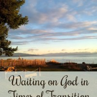 How to Wait on God in Times of Transition