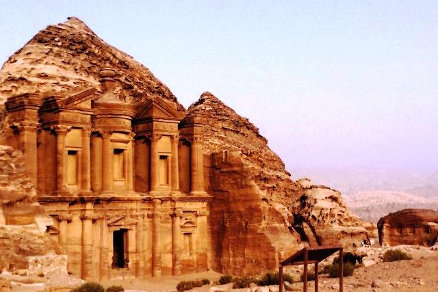 Ad Deir - The Monastery Petra Jordan - photo zoedawes