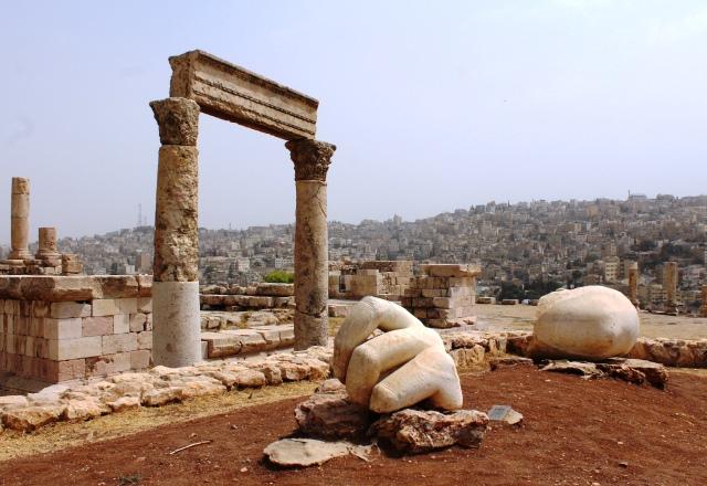 Amman Roman Citadel Jordan - photo zoedawes