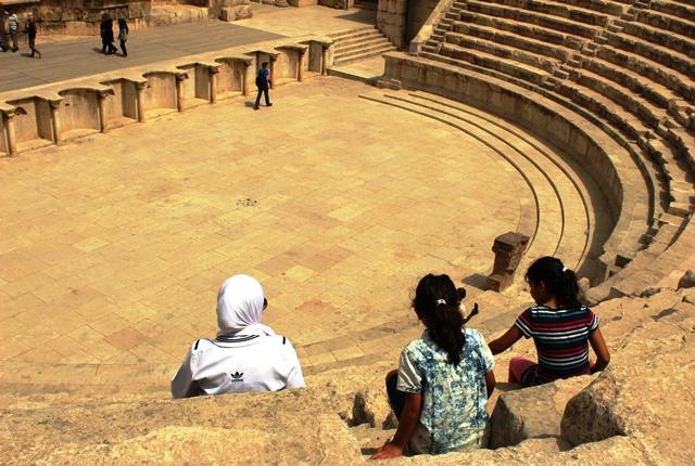 Amman Roman Theatre Jordan - zoedawes
