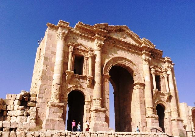 The Roman Arch of Triumph Jerash Jordan - zoedawes