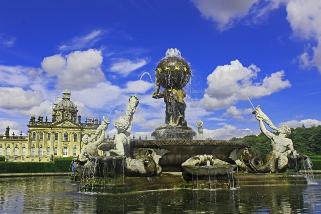 Castle Howard and Atlas Fountain - Yorkshire - zoedawes