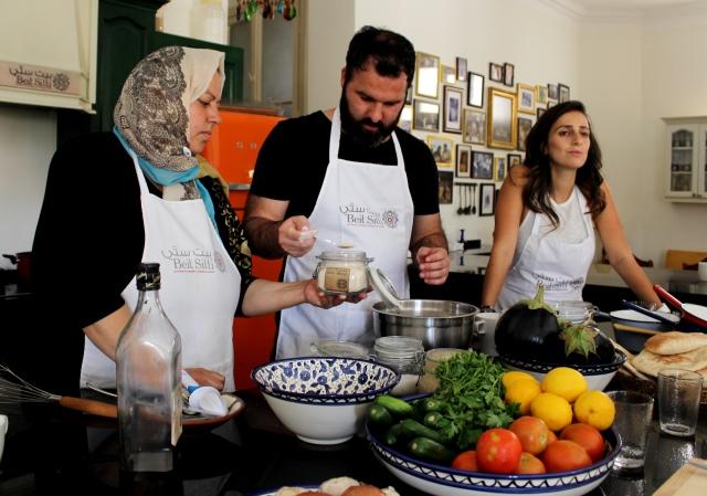 Beit Sitti - preparing an Arabic meal - zoedawes