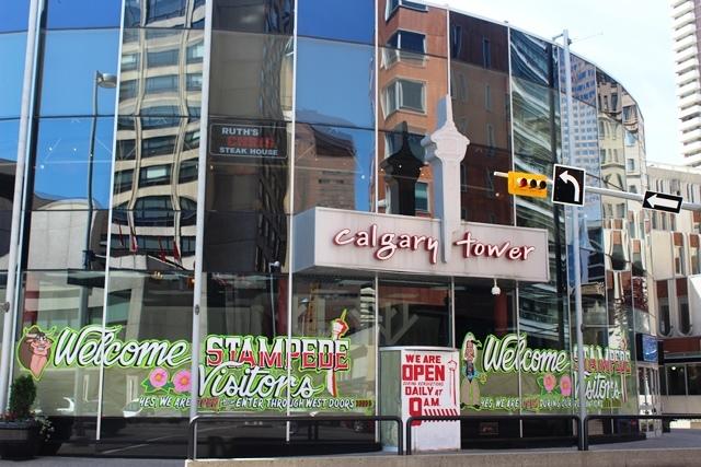 Calgary Tower - image zoe dawes