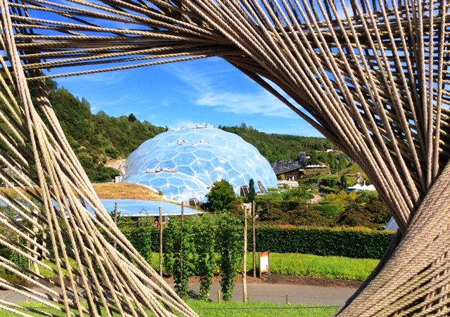 The Eden Project Cornwall zoedawes