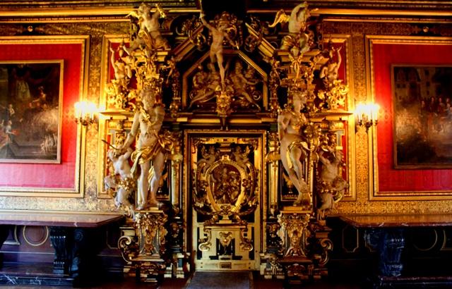 Heavenly Gate Golden Hall Buckeburg Castle - photo zoedawes