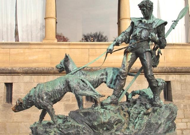 Hunter & dogs Konopiste Castle - zoedawes