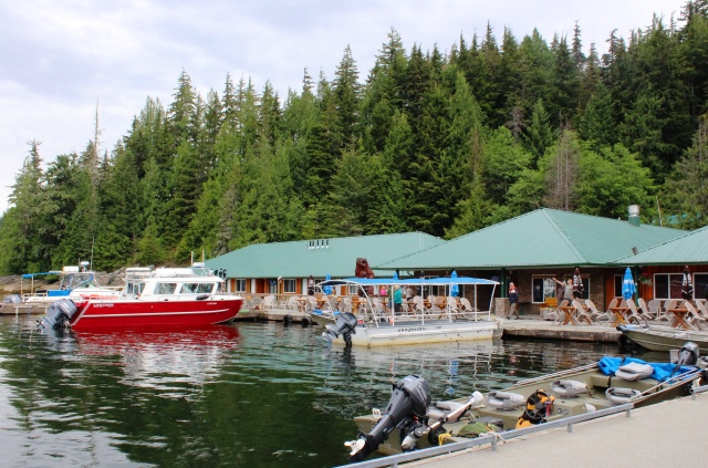 Knight Inlet Bear Lodge BC Canada - photo zoedawes