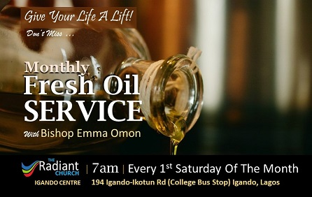 October Fresh Oil service (Monthly) 2