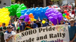 Noho Pride Anniversary on May 12th.  Photo by TRT/Glenn Koetzner.