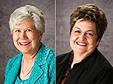 Donna Carpenter (left) and Janet Collins (right) resigned over marriage equality. Photo: RooseveltCounty.com
