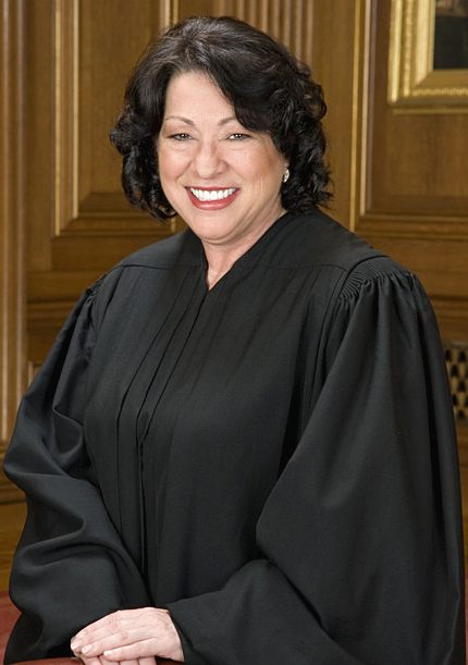 Supreme Court Justice Sonia Sotomayor  Photo: Wikipedia
