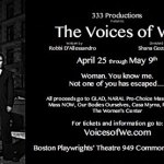 The Voices of We Explores Challenges Women Face, Now in Boston