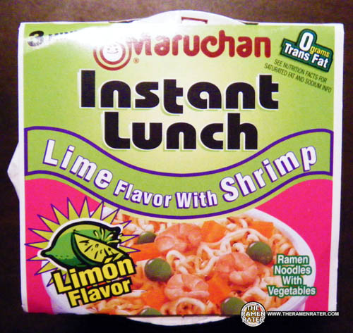 #403: maruchan instant lunch lime flavor with shrimp ramen