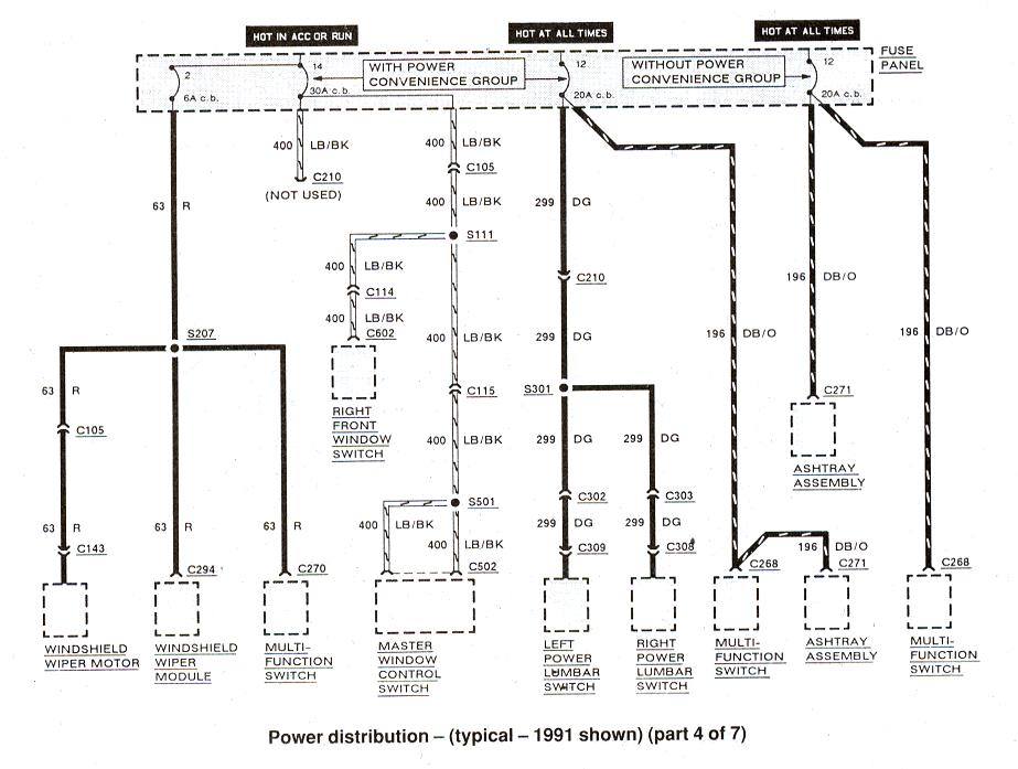 1991 F150 Wiring Diagram Index listing of wiring diagrams