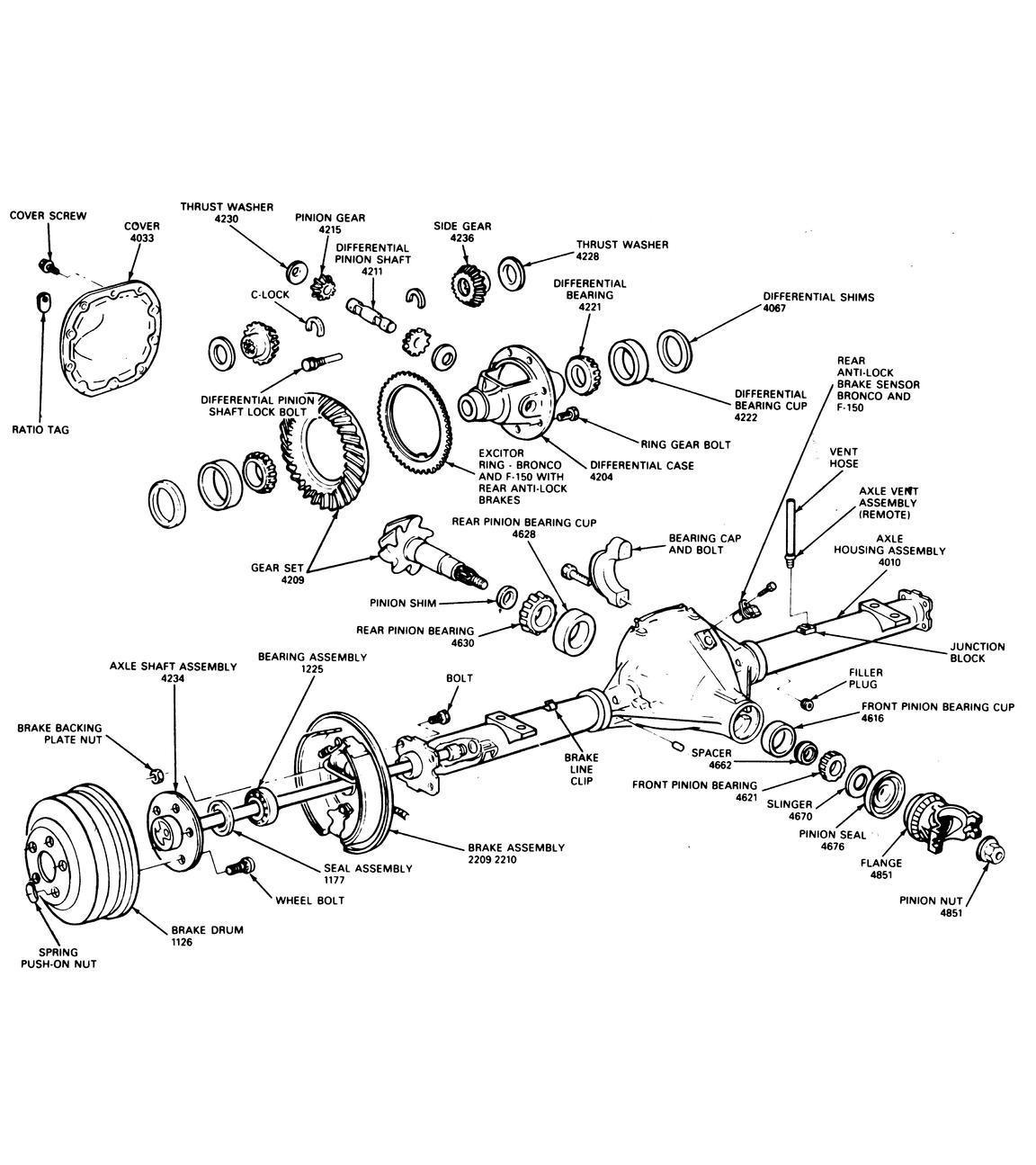 02 expedition rear suspension diagram wiring schematic