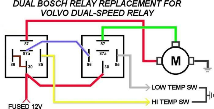 12 Volt Relay Wiring Diagram 5 Pole | mwb-online.co  Pole Fan Relay Wiring Diagram on