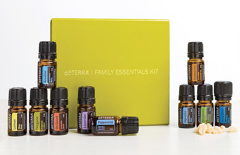 Family + Home Essentials Kit \u2013 therapeutic-oils
