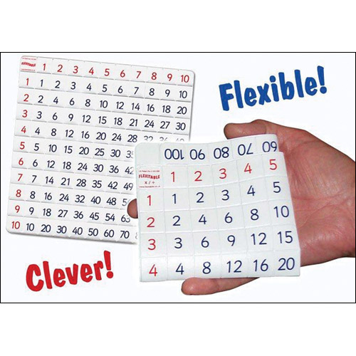Flexitable - A Folding ADDITION And SUBTRACTION Table With Teaching CD