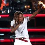 LOS ANGELES, CA - JUNE 28:  Rapper Fetty Wap performs onstage during the 2015 BET Awards at the Microsoft Theater on June 28, 2015 in Los Angeles, California.  (Photo by Mark Davis/BET/Getty Images for BET)