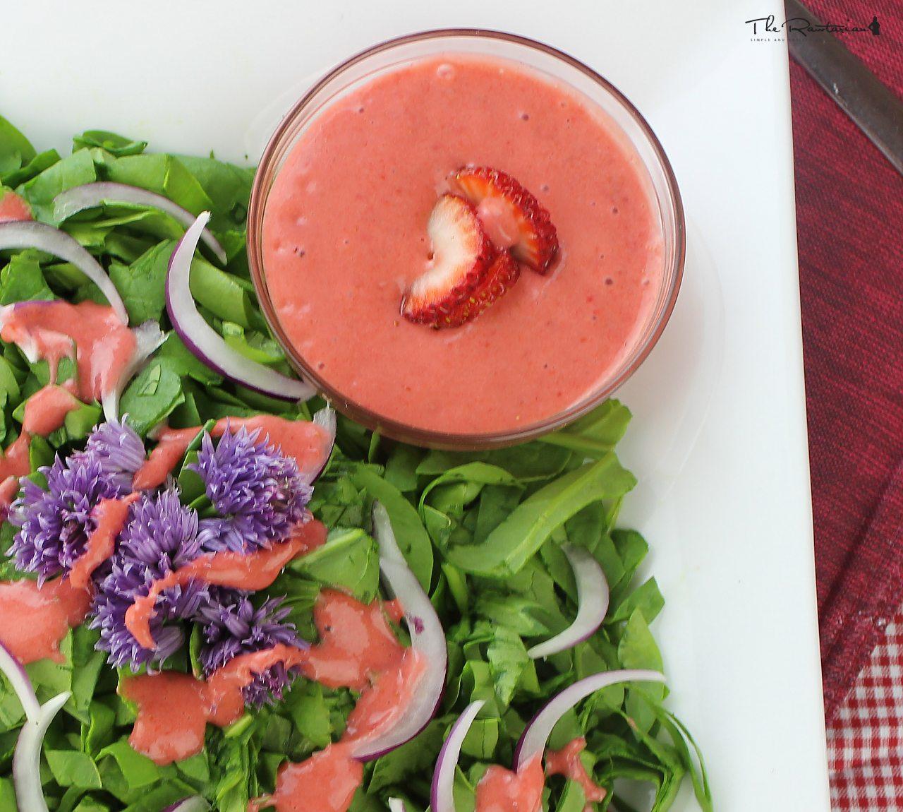 Fullsize Of Strawberry Vinaigrette Recipe