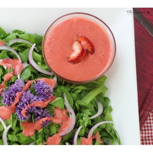 Medium Crop Of Strawberry Vinaigrette Recipe