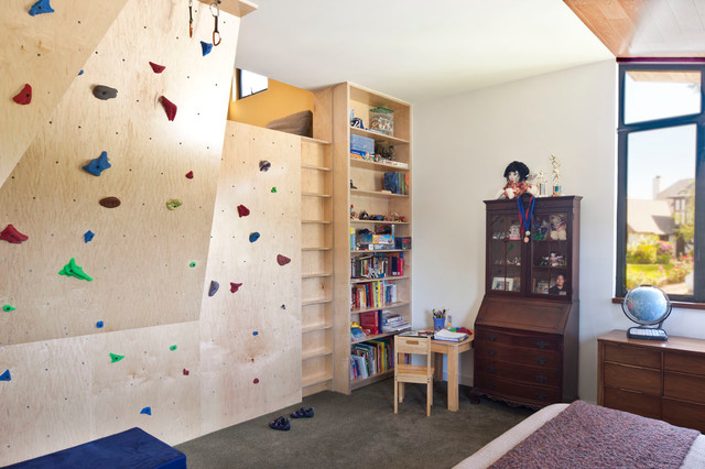 Pinterest Girls Kids Rooms With Wood Wallpaper Would You Like A Climbing Wall In Your Home The Real