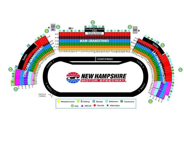 2019 New Hampshire race packages, New Hampshire Foxwoods Resort