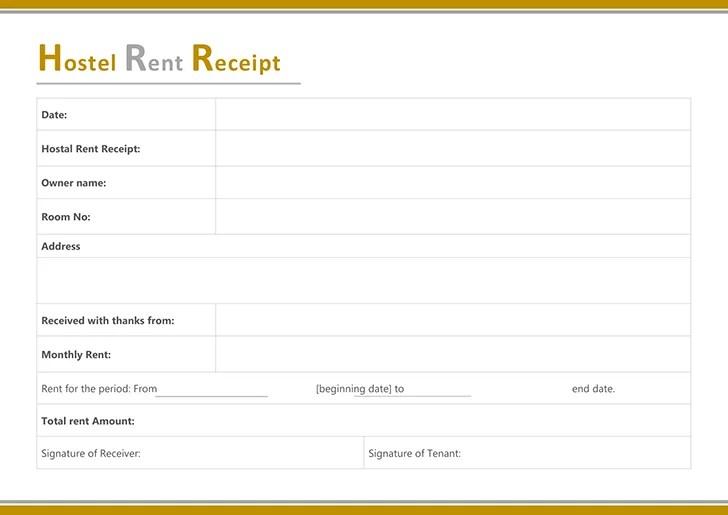rent receipt templates rent format selo l ink co rent receipt
