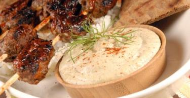 Quick Arabic Tahini Dip Recipe