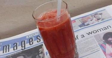 Fresh Strawberry Juice Recipe